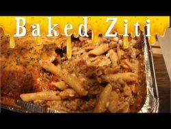How to make Amazing Baked Ziti