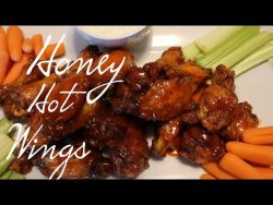 How to make Delicious Honey Hot wings