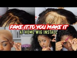 HOW TO ACHIEVE A CELEBRITY HAIRSTYLIST WIG INSTALL AT HOME x BEGINNER FRIENDLY