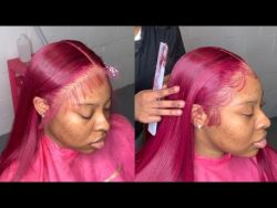 SILKY Red Lace Frontal Wig Install ❤️🔥🥵 | HOW TO MELT THAT LACE 🔥 |VERY DETAILED START TO FINISH|