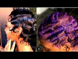 HOW TO SLAY FINGER WAVES ON NATURAL HAIR 2020 ? | SHORT & LONG HAIR