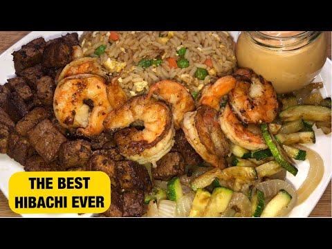 Steak and Shrimp Hibachi by Chef Bae