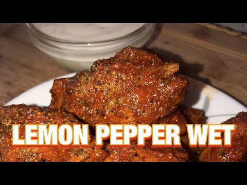 Lemon Pepper Wet Chicken Wings by Chef Bae
