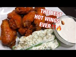 Hot Buffalo Wings by Chef Bae