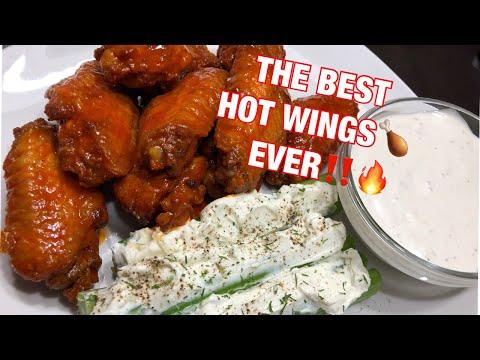 Hot Buffalo Wings by Chef Bae