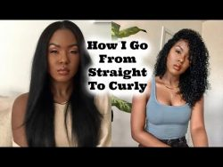 How I Go From Straight To Curly | Heat Damage? Tips & Tricks #WithMe