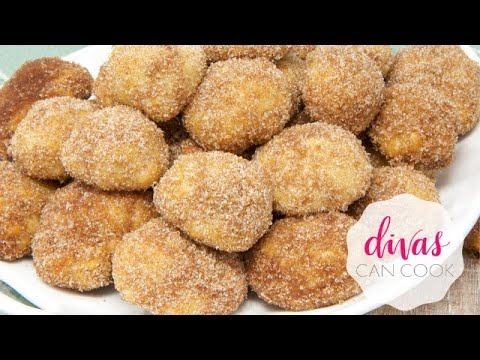 Cinnamon Sugar Soft Pretzels Bites (SO ADDICTIVE!)