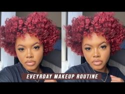 My 2020 Everyday Makeup Routine (Dewy & Natural) | Naturally Sunny