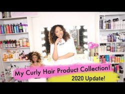 My Updated Curly Hair Product Collection 2020! | BiancaReneeToday