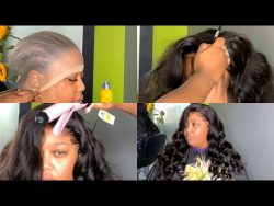 HOLLYWOOD GLAM INSPIRED CURLS | HD WIG MELT