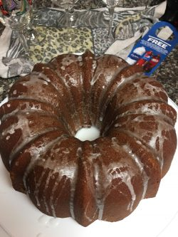 My 7-up Pound Cake