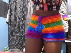 Fun N Da Sun HighWaisted Shorts w/ Tassle Drawstring