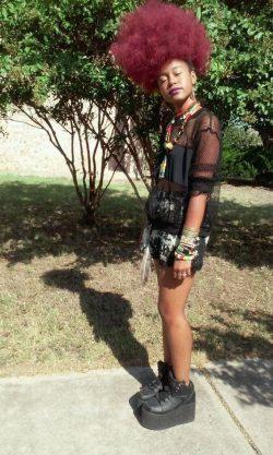 Ayade efffingamazing.tumblr.com #afropunk #fashion #beautiful