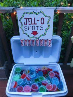 Jello-O Shots