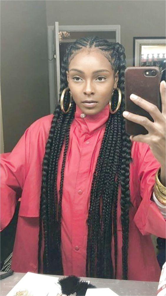 Erika Nkansah for more poppin pins #BraidsForMediumLengthHair Like what you see? click on the li ...