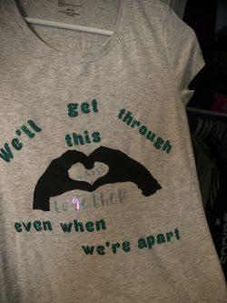 Distance learning shirt for teachers