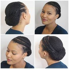 It's back to the curls and back to protective styling! After washing & deep conditioni ...