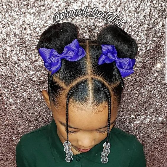 "#kidshairstyles #kidsbraids on Instagram: ""KIDS BRAIDS HAIRSTYLES FEATURED @chenell_thestylist F ..."