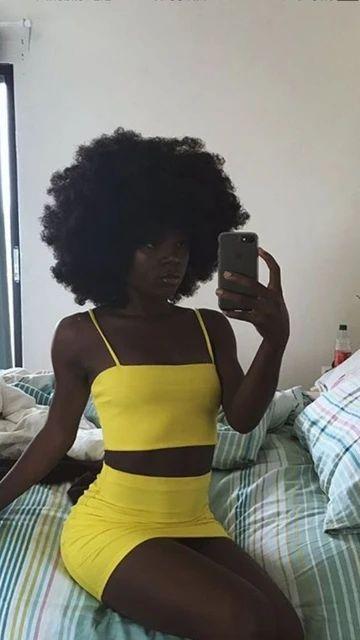 Two Piece Mini Homecoming Dress , Spaghetti Straps Homecoming Dress S4 – Simplepromdress