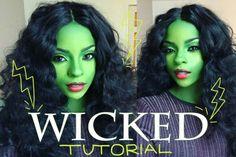 Wicked Elphaba Halloween Makeup | Indigo Blue