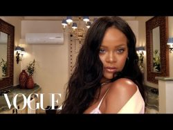 Rihanna's Epic 10-Minute Guide to Going Out Makeup | Vogue