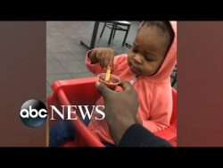 Skeptical toddler trying ketchup for the first time is all of us | GMA Digital Good Morning America