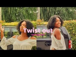 Twist out| Hairstyle n°2