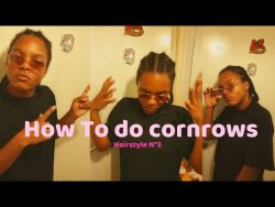 How To Do Conrows  Hairstyle n°3