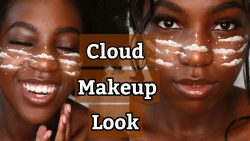 Cloud Makeup Look