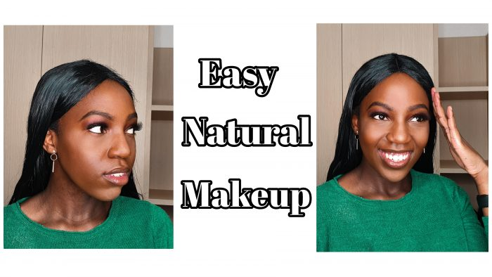 An easy soft glam makeup look tutorial for students