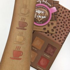beauty bakerie coffee and cocoa palette