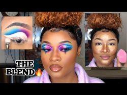 Blend For Dear LIFE!! // Recreation of MakeupByAlinna – YouTube