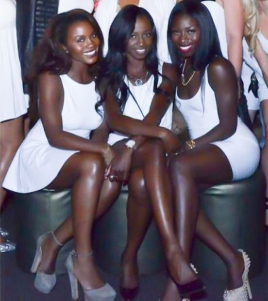 dark skinned beauties