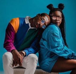 Young black couple photoshoot