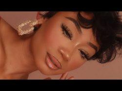 Everyday Glam Makeup Look   Fox Eye Makeup   MakeupTiffanyJ – YouTube