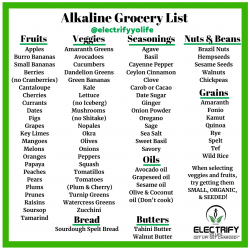 Alkaline food and drink