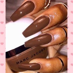 Luxury Brown Nails | Marc Jacobs Polish