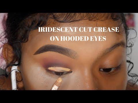 FESTIVAL LOOKS ?| IRIDESCENT CUT CREASE ON HOODED EYES | BEAUTY BAY – YouTube