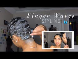 how to: FINGER WAVES ✨✨✨ – YouTube