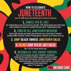 How to Celebrate Juneteenth ❤??