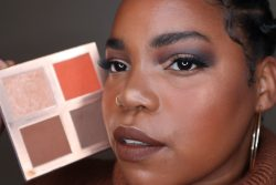 Face palette for deep for deeper skin tones designed by a black woman for black people
