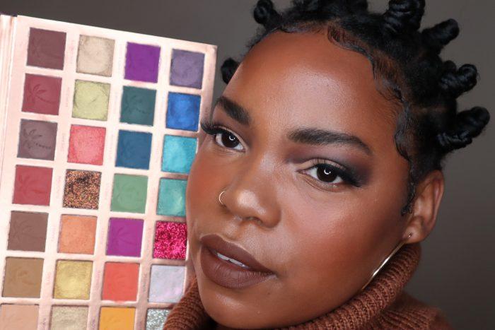 Tropical Twilight Eyeshadow Palette by @makeupbytammi