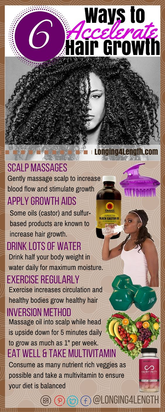 #L4LHair Tip Tuesday – Ways to Accelerate Hair Growth for Natural Hair, How to Increase Ha ...