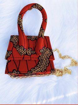 Multi Afri Print Ankara bag | EBONYX