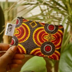 Orange Red Black Coin Purse Handmade Ankara African Print – Unique Limited Edition ~ trave ...