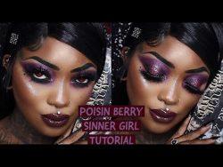 POISON BERRY SINNER GIRL TUTORIAL – YouTube