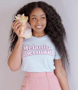 """Melanin Mermaid"" Short-Sleeve Unisex T-Shirt– Adorned By Chi"