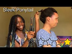 She Gave Me A SLEEK PONYTAIL! – YouTube