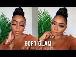 Pretty soft glam makeup