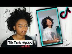 TESTING VIRAL TIKTOK NATURAL HAIR HACKS ON 4C HAIR! | Coco Chinelo – YouTube